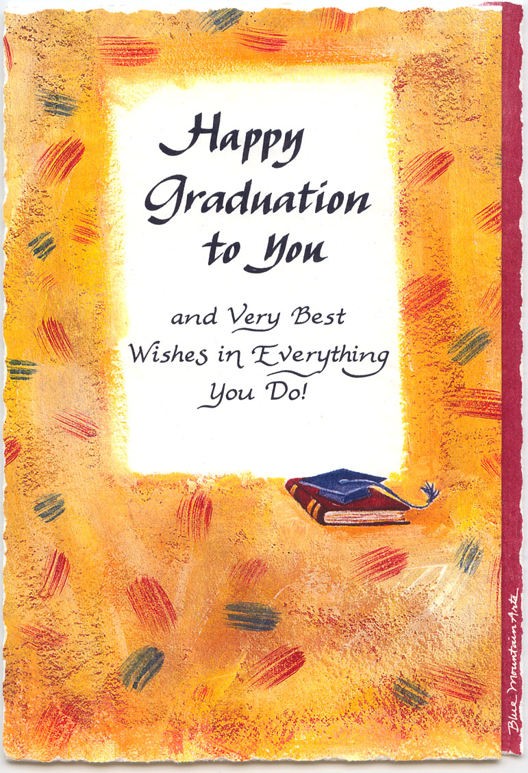 Happy graduation to you greeting card marges8s blog this kristyandbryce Gallery